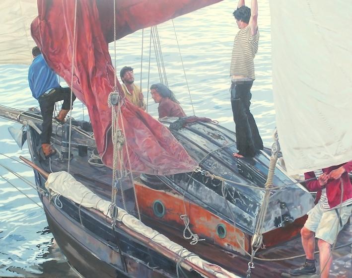 Sailing through The Gaps, Mousehole