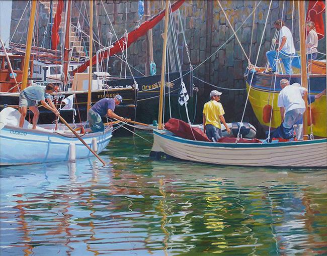 Maritime Festival, Sea Salt & Sails, Mousehole Harbour