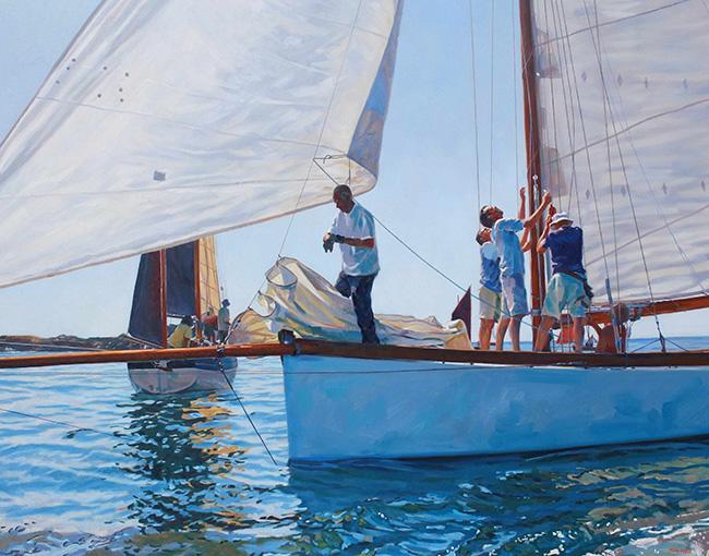 Full sail, Mousehole